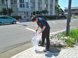 盛岡駅西口地域清掃活動_3