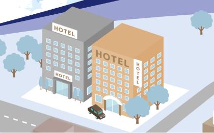 モーダル画像 ホテル